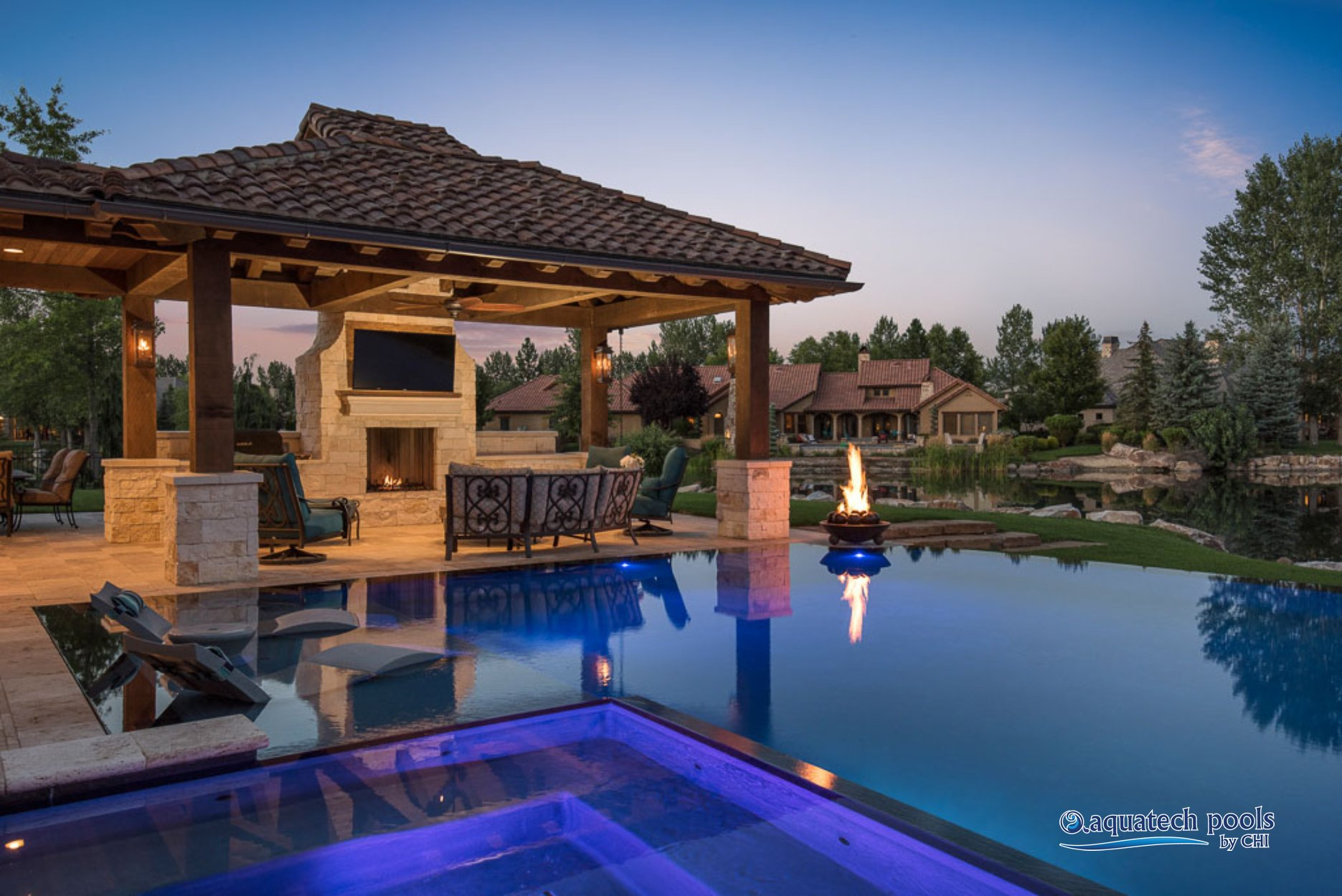- Outdoor House Pools