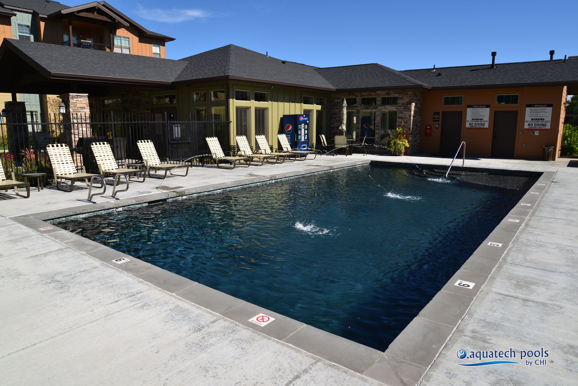 Commercial pools idaho s most professionally recognized for Show pool status not found