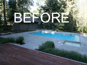 pool renovation Sun Valley